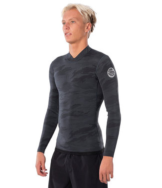 RIP CURL RIP CURL MENS DAWN PATROL REVERISIBLE 1.5MM L/S WETSUIT TOP 2020
