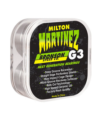 BRONSON BRONSON PRO G3 MILTON MARTINEZ SKATEBOARD BEARINGS