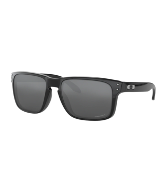 OAKLEY OAKLEY HOLBROOK POLISHED BLACK SUNGLASSES w/ BLACK IRIDIUM LENS