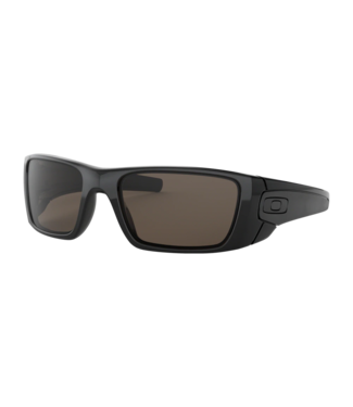 OAKLEY OAKLEY FUEL CELL POLISHED BLACK SUNGLASSES w/ WARM GREY LENS