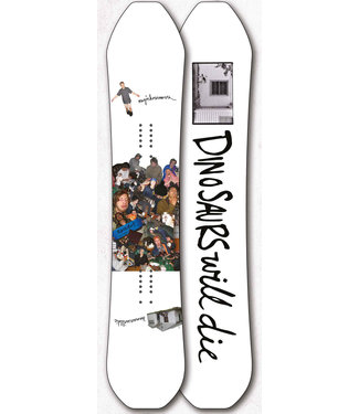 DWD DINOSAURS WILL DIE NEVER NOT SNOWBOARD 2020