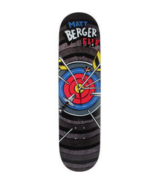 "FLIP FLIP BERGER BLAST SKATEBOARD DECK - 8.25"""