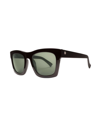 ELECTRIC CRASHER GLOSS BLACK SUNGLASSES w/ OHM GREY LENS