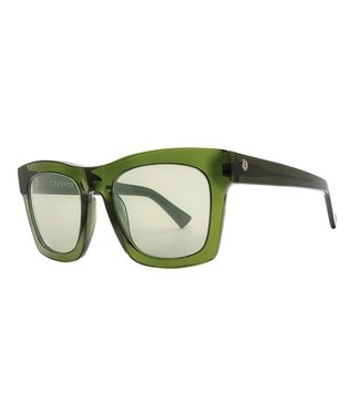 ELECTRIC CRASHER GLOSS OLIVE SUNGLASSES w/ VINTAGE GREEN LENS