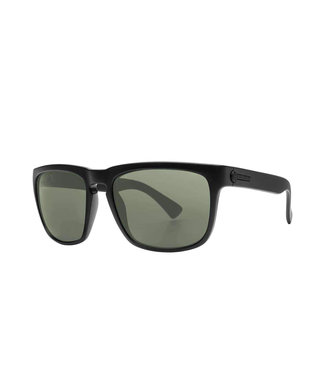 ELECTRIC KNOXVILLE MATTE BLACK SUNGLASSES w/ OHM POLARIZED GREY LENS