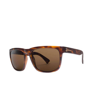 ELECTRIC KNOXVILLE MATTE TORT SUNGLASSES w/ OHM BRONZE LENS