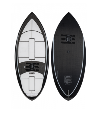 RONIX RONIX CARBON AIR CORE 3 THE SKIMMER WAKE SURF BOARD 2020