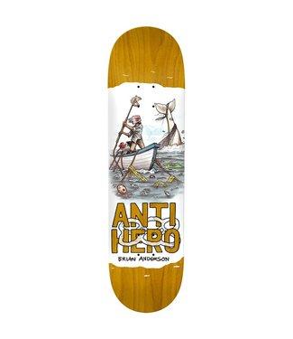 "ANTI HERO ANTI HERO BA PLASTICS SKATEBOARD DECK - 8.4"""
