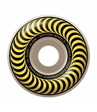 SPITFIRE SPITFIRE F4 CLASSICS YELLOW SKATEBOARD WHEELS - 55MM - 99A