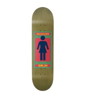 GIRL GIRL 93 TIL RICK MCCRANK SKATEBOARD DECK - 8.375