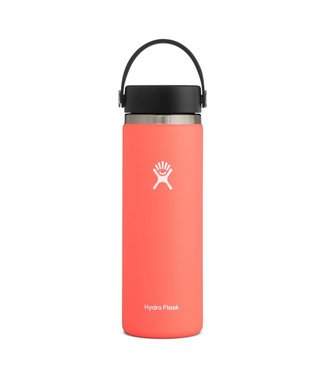 HYDRO FLASK HYDRO FLASK 20OZ WIDE MOUTH 2.0 FLEX CAP - HIBISCUS