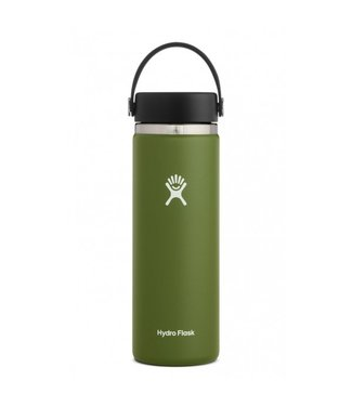 HYDRO FLASK HYDRO FLASK 20OZ WIDE MOUTH 2.0 FLEX CAP - OLIVE