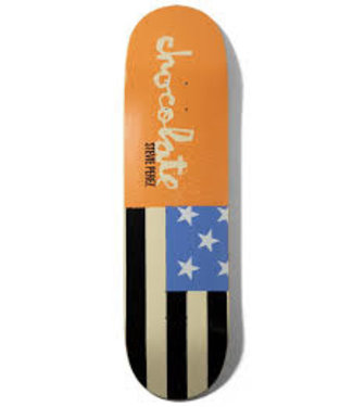 CHOCOLATE CHOCOLATE PEREZ GIANT FLAGS SKATEBOARD DECK - 8.375
