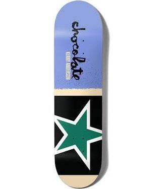 CHOCOLATE CHOCOLATE ANDERSON GIANT FLAGS SKATEBOARD DECK - 8.5