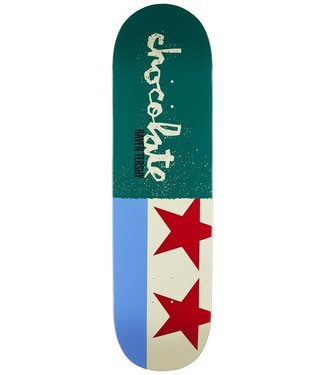 CHOCOLATE CHOCOLATE TERSHY GIANT FLAGS SKATEBOARD DECK - 9.25
