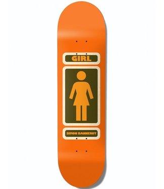 GIRL GIRL PACHECO ONE OFF SKATEBOARD DECK - 8.5