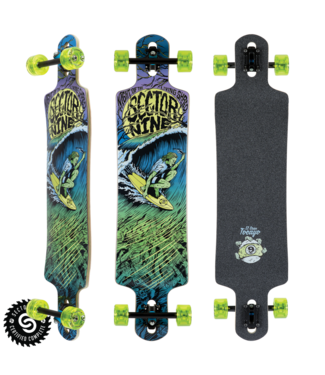 """SECTOR 9 DAWN OF THE SHRED 34"""" COMPLETE LONGBOARD"""