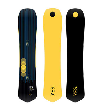 YES YES THE Y SNOWBOARD 2021