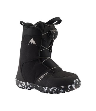 BURTON 2021 BURTON GROM BOA KIDS BOOT BLACK