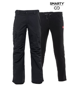 686 2021 686 SMARTY 3-IN-1 CARGO PANT BLK