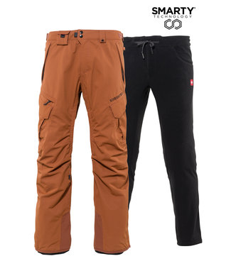 686 2021 686 SMARTY 3-IN-1 CARGO PANT CLAY