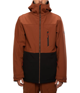 686 2021 686 SMARTY 3-IN-1 PHASE SOFTSHELL JACKET CLAY