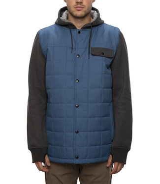 686 2021 686 BEDWIN INSULATED JACKET BLUE STORM