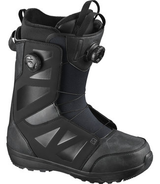 SALOMON 2021 SALOMON LAUNCH BOA SJ BOA SNOWBOARD BOOT BLACK/BLACK/BLACK