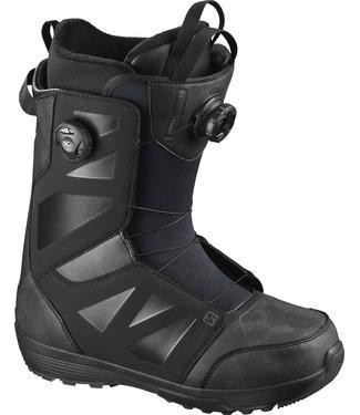 SALOMON 2021 SALOMON LAUNCH BOA SJ BOA SNOWBOARD BOOT BLACK/BLACK/BLACK