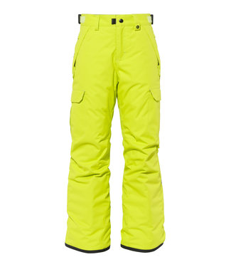 686 2021 686 BOYS INFINITY CARGO INSULATED PANT LIME
