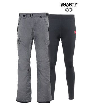 686 686 WOMENS SMARTY 3-IN-1 CARGO PANT GREY 2021