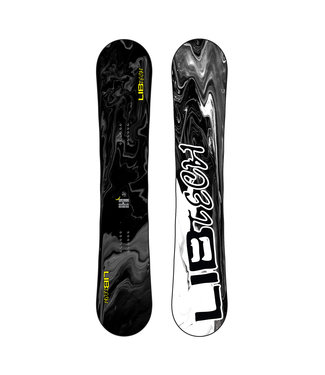 LIB TECH 2021 LIB TECH SKATE BANANA SNOWBOARD STEALTH/BLACKED OUT
