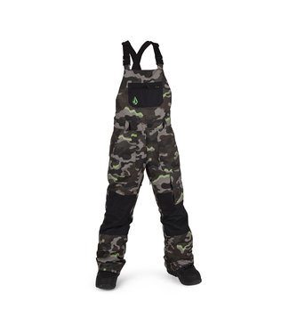 VOLCOM 2021 VOLCOM BIG YOUTH BARKLEY OVERALL BIB ARMY