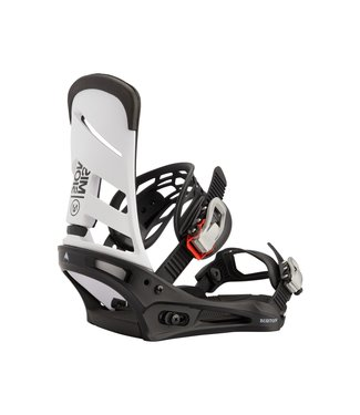 BURTON 2021 BURTON MISSION RE:FLEX BINDING WHITE/BLACK