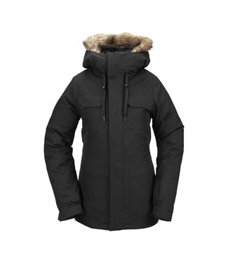 VOLCOM 2021 VOLCOM SHADOW INSULATED WOMENS JACKET BLACK