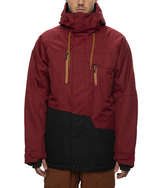 686 2021 686 GEO INSULATED JACKET OXBLOOD