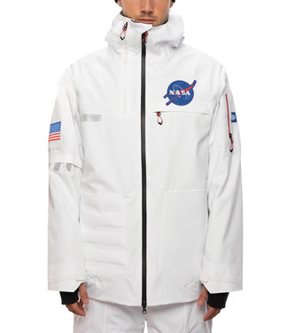 686 2021 686 NASA EXPLORATION THERMAGRAPH JACKET WHITE