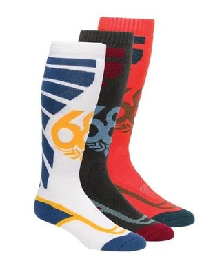 686 2021 686 STRIKE SOCK 3-PACK ASSORTED