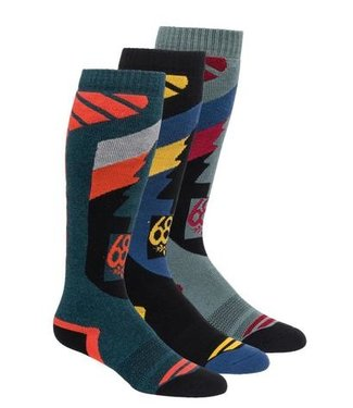 686 2021 686 SO FRESH SOCK 3-PACK ASSORTED