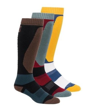 686 2021 686 BRUISER SOCK 3-PACK ASSORTED