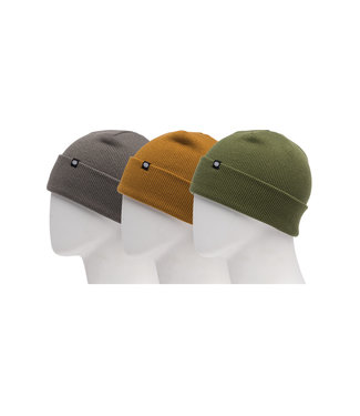 686 2021 686 STANDARD ROLL UP BEANIE - 3 PACK EARTH