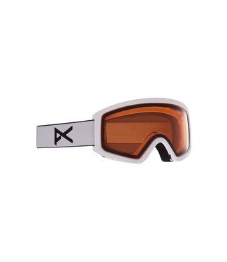 ANON 2021 ANON TRACKER 2.0 YOUTH GOGGLE WHITE W/AMBER