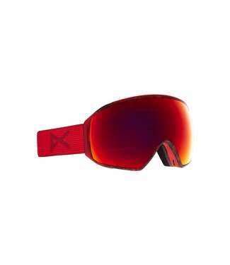 ANON 2021 ANON M4 TORIC GOGGLE RED TORT W/PERCEIVE SUNNY RED + BONUS LENS + MFI MASK