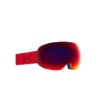 ANON 2021 ANON M2 GOGGLE RED W/PERCEIVE SUNNY RED + BONUS LENS + MFI MASK