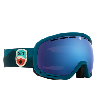 SPY 2021 SPY MARSHALL GOGGLE TRAILBLAZER BLUE - HD PLUS ROSE WITH DARK BLUE SPECTRA MIRROR - HD PLUS LL GRAY GREEN RED SPECTRA MIRROR