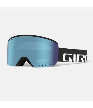 GIRO 2021 GIRO AXIS GOGGLE BLACK WORDMARK - VIVID ROYAL + VIVID INFRARED