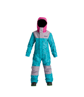 AIRBLASTER 2021 AIRBLASTER YOUTH FREEDOM SUIT HE TEAL/DK LAVENDER