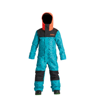 AIRBLASTER 2021 AIRBLASTER YOUTH FREEDOM SUIT HE TEAL/BLACK