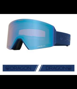 DRAGON DRAGON RVX OTG NAVY GOGGLE w/ LUMALENS FLASH BLUE + LUMALENS DARK SMOKE 2021