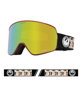 DRAGON 2021 DRAGON NFX2 FOREST BAILEY SIGNATURE GOGGLE w/ LUMALENS GOLD ION + LUMALENS YELLOW